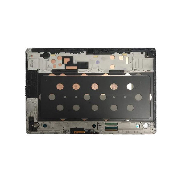 Purchase a new LCD Screen Digitizer Assembly with Frame for Samsung Galaxy Tab S 10.5 T800 Brone to replace your broken one.
