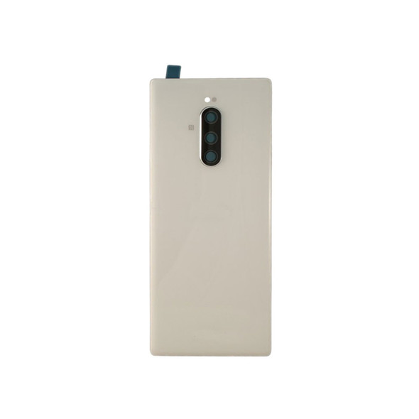 Sony Xperia 1 Back Glass Cover with Camera Lens White | Parts4Repair.com