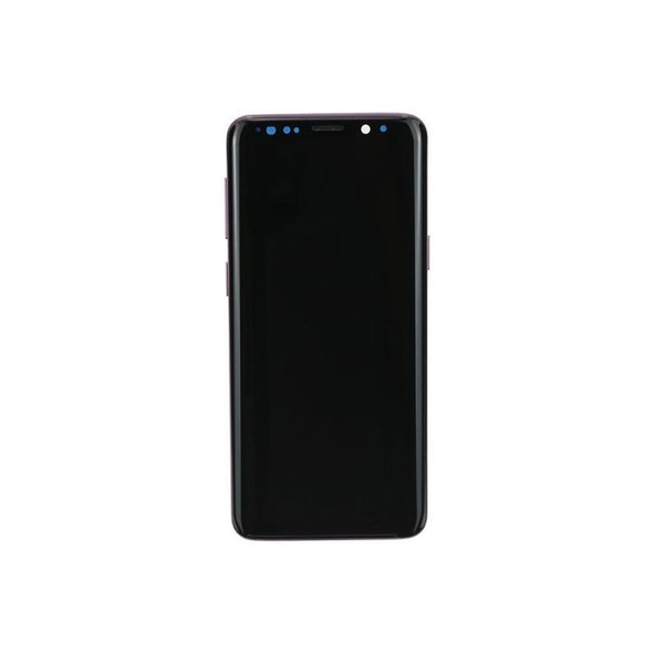 LCD Screen Digitizer Assembly with Frame for Samsung Galaxy S9 Purple | Parts4Repair.com