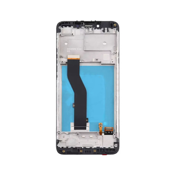 LG K20 full screen assembly with frame | Parts4Repair.com