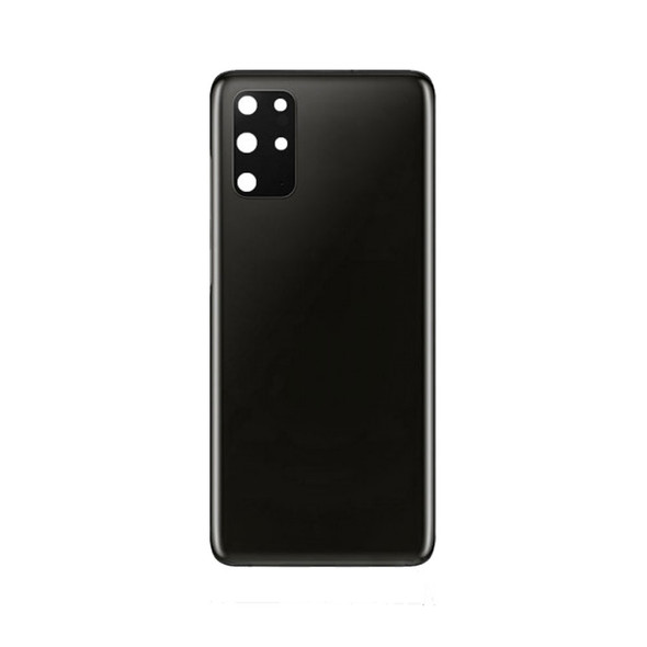 Back Glass with Camera Lens for Samsung Galaxy S20+ Black   Parts4Repair.com