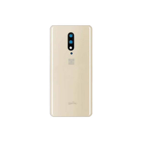 Oneplus 7 Pro Back Glass Cover Black with Camera Lens Almond | Parts4Repair.com