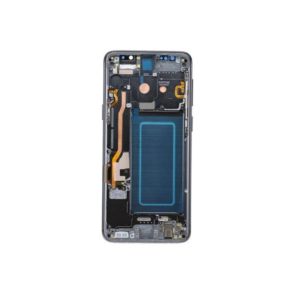 LCD Screen Digitizer Assembly with Frame for Samsung Galaxy S9 Gray | Parts4Repair.com