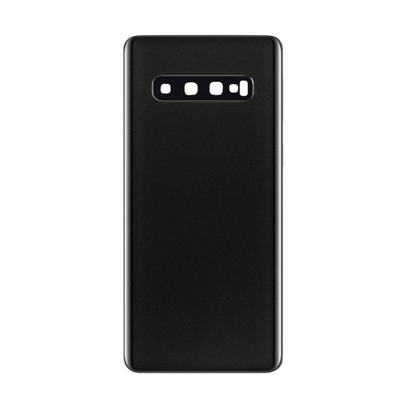 Samsung Galaxy S10 Back Glass with Adhesive Black | Parts4Repair.com