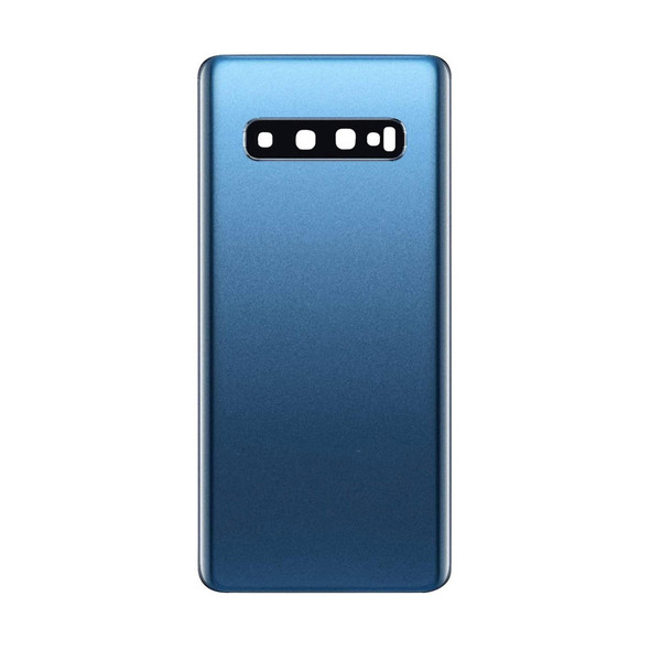 Samsung Galaxy S10 Back Glass with Adhesive Blue | Parts4Repair.com