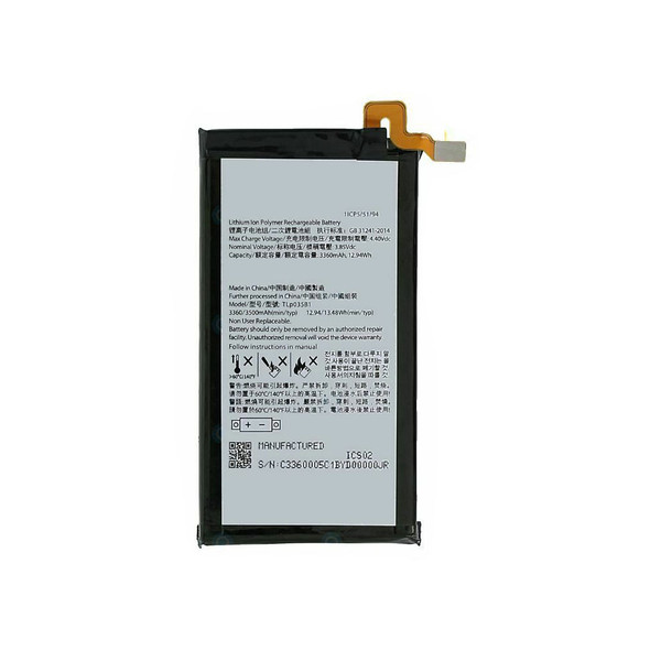 Built-in Battery Replacement for BlackBerry Key2 | Parts4Repair.com