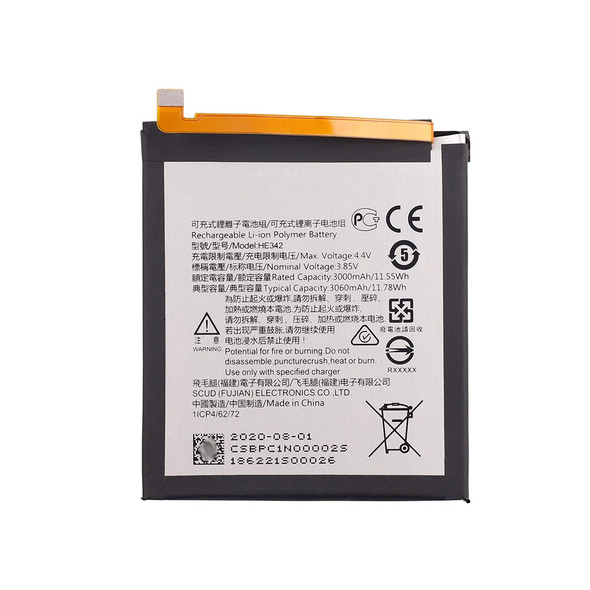 Built in Battery for Nokia 7.1 | Parts4Repair.com