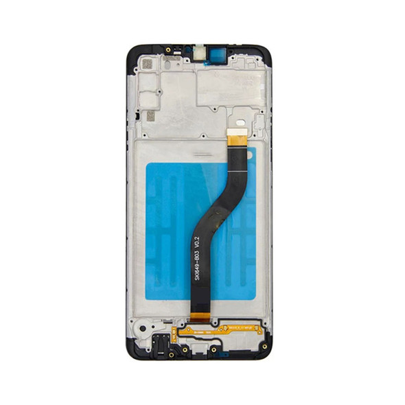 Samsung Galaxy A20s display assembly with frame   Parts4Repair.com