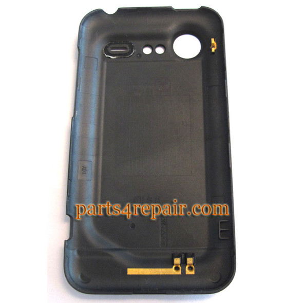 Back Cover for HTC Incredible S -Black