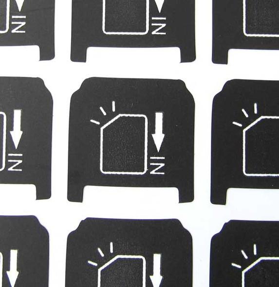 HTC SIM Card Sticker (40pcs)