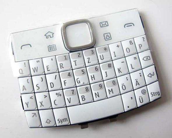 Nokia E6 Keypad White from www.parts4repair.com