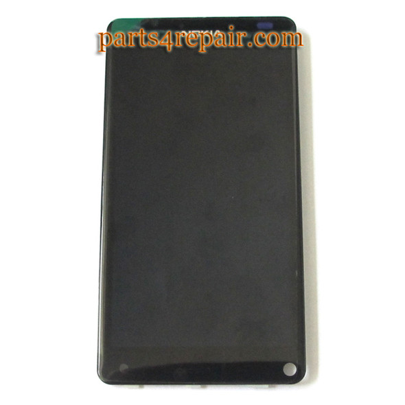 Nokia N9 Complete Screen Assembly from www.parts4repair.com