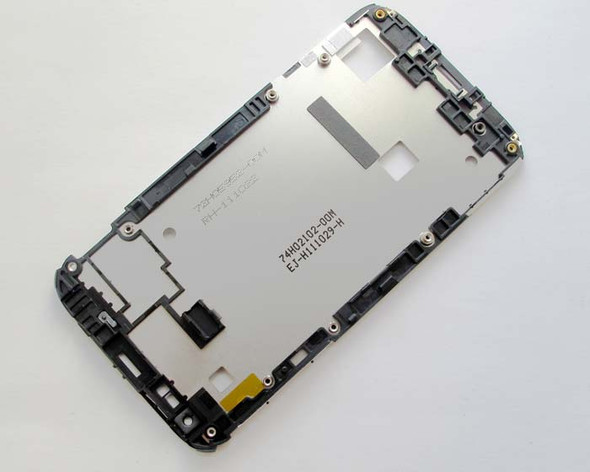 HTC Sensation XL Middle Plate from www.parts4repair.com