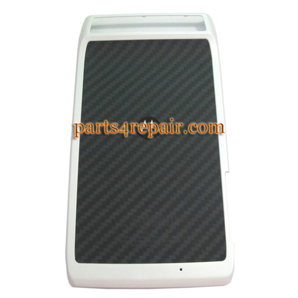 Motorola RAZR XT910 Back Cover -White from www.parts4repair.com