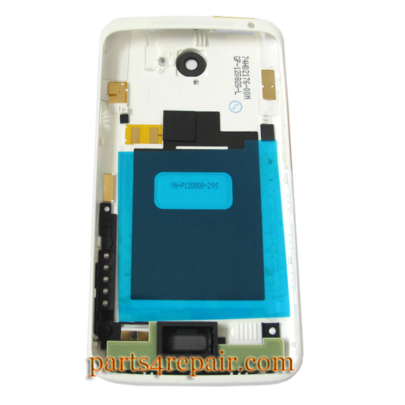 Back Housing Assembly Cover for HTC One X -White