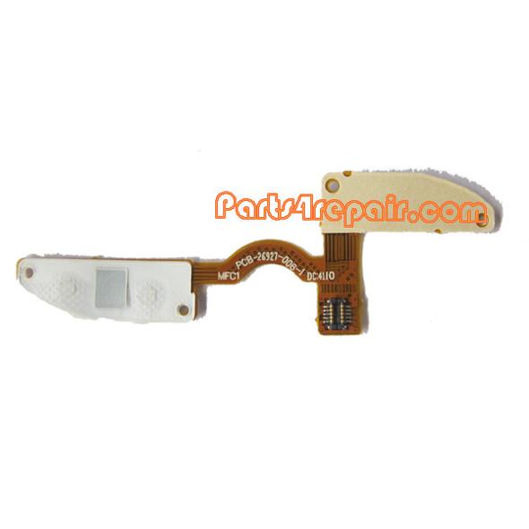 BlackBerry Torch 9810/9800 End Send Escape Key Membrane Flex Cable