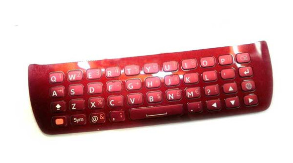 Sony Ericsson Xperia Pro Keypad -Red from www.parts4repair.com
