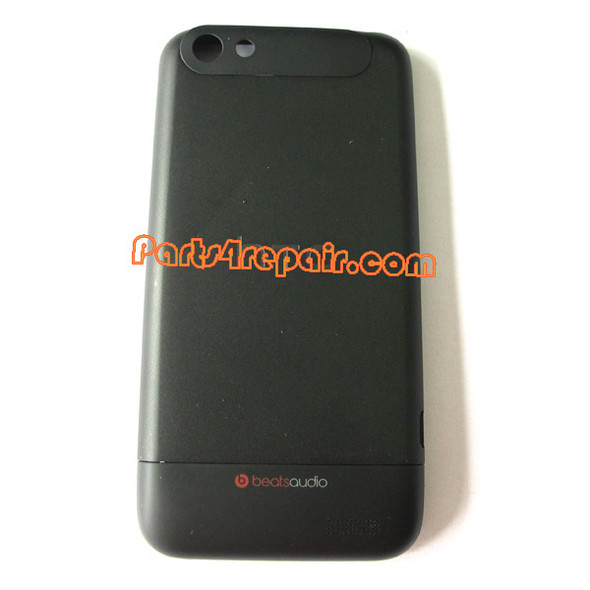Back Housing Cover Assembly for HTC One V -Black
