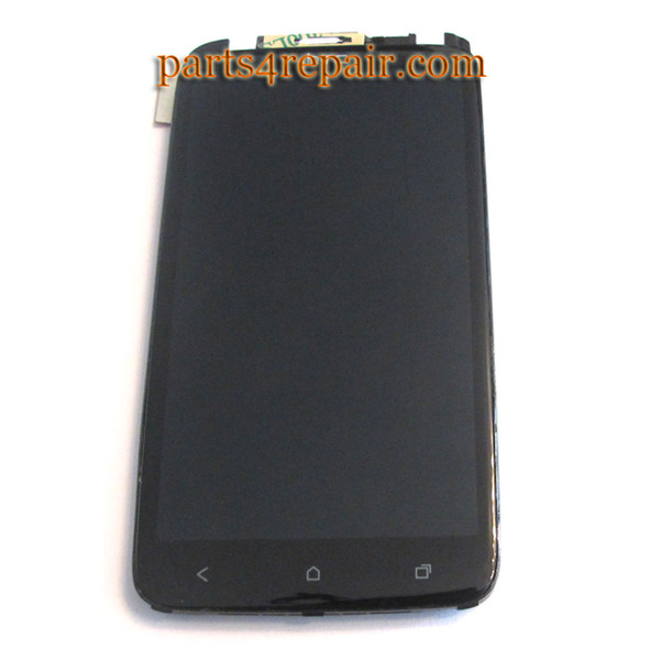 HTC One X Complete Screen Assembly with Front Bezel