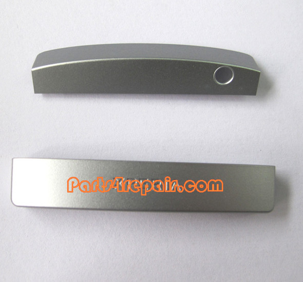 Bottom & Top Cover for Sony Xperia P lt22i -Silver