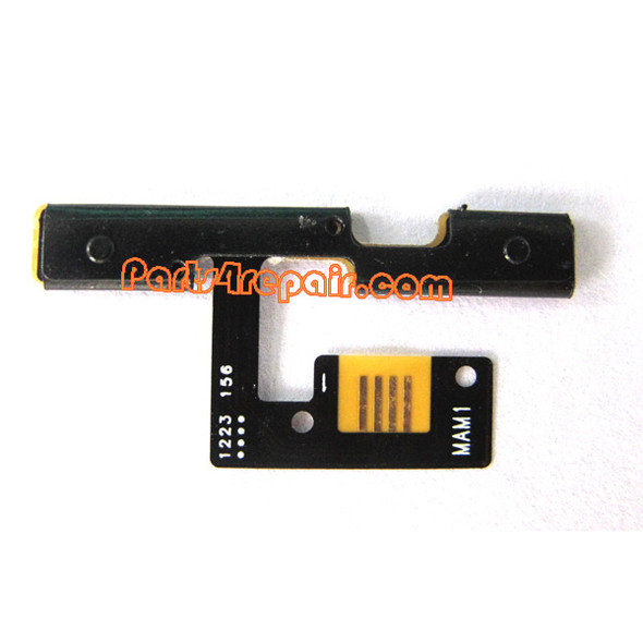 HTC Wildfire S Volume Button Flex Cable from www.parts4repair.com