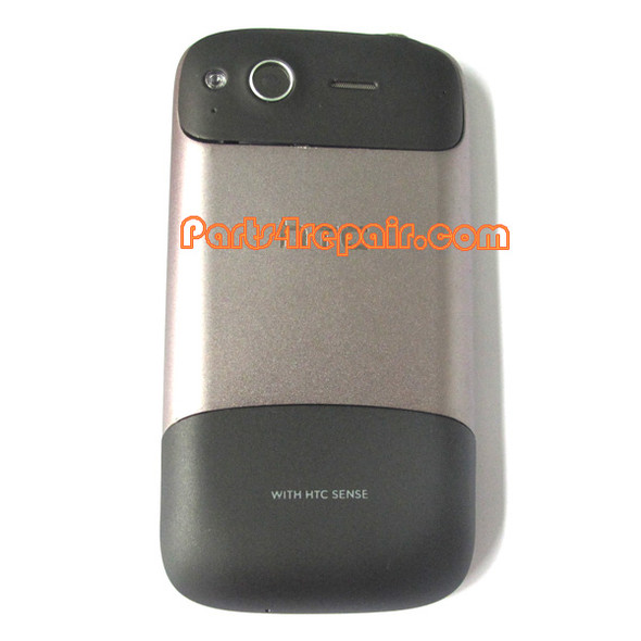 Full Housing Cover for HTC Desire S - Silver