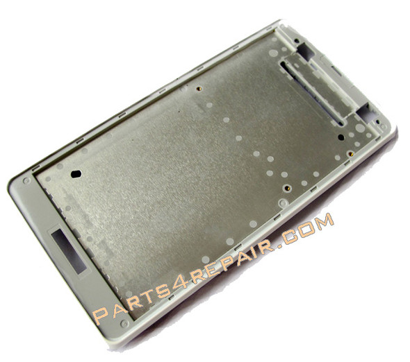 Sony Xperia TX LT29I Front Faceplate for LCD Screen -White from www.parts4repair.com