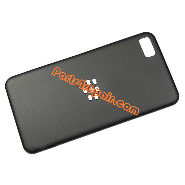 Back Cover for BlackBerry Z10 -Black from www.parts4repair.com