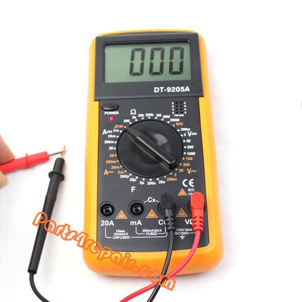 DT9205A Digital Multimeter Electrical Meter Voltmeter Ohmmeter Ampmeter DMM