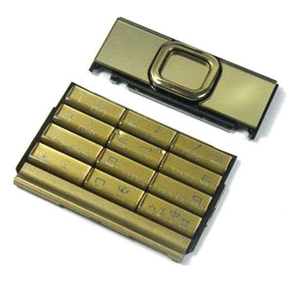 Nokia 8800 Gold Arte a full set of Keypads from www.parts4repair.com