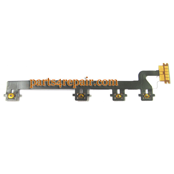 Volume Flex Cable for Nokia Lumia 820 from www.parts4repair.com