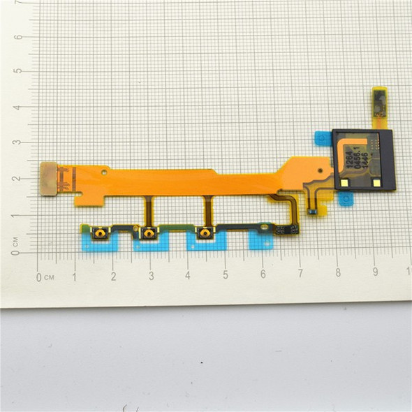 Side Key Flex Cable for Sony Xperia Z L36H from www.parts4repair.com