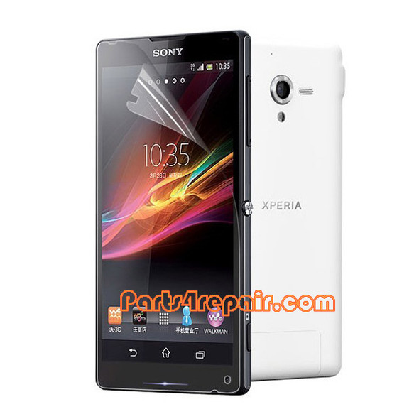 Clear Screen Protector Shield Film for Sony Xperia ZL L35H