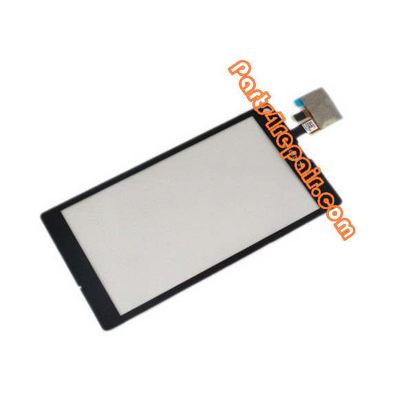 Touch Screen Digitizer for Sony Xperia L S36H -Black from www.parts4repair.com