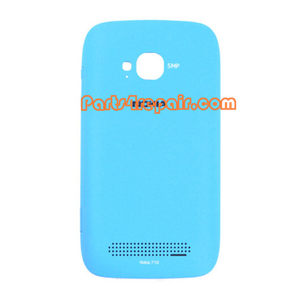 Back Cover for Nokia Lumia 710 -Blue from www.parts4repair.com