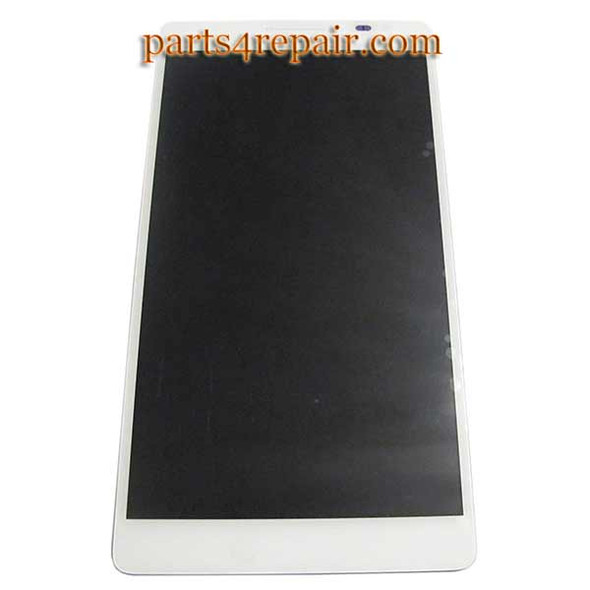 Complete Screen Assembly for Huawei Ascend Mate MT1-U06 -White from www.parts4repair.com