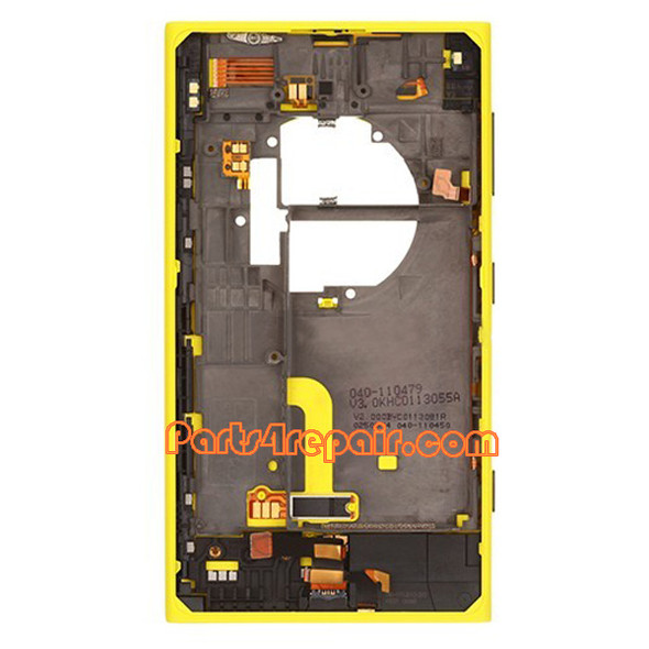Back Housing Cover for Nokia Lumia 1020 -Yellow
