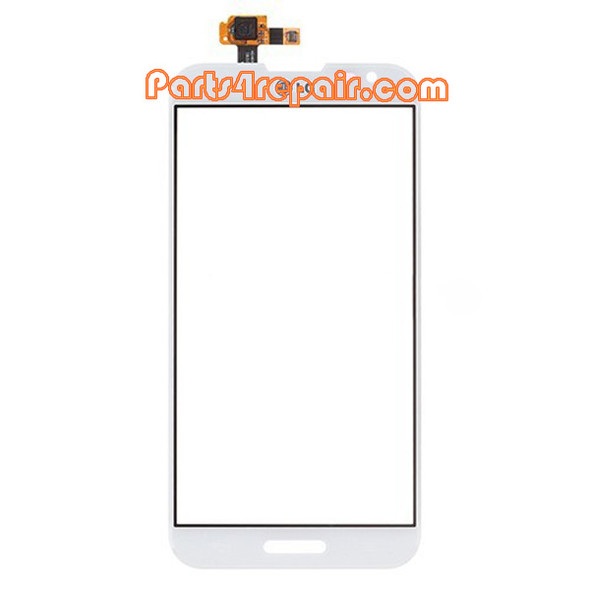 Touch Screen Digitizer for LG Optimus G Pro F240 -White from www.parts4repair.com