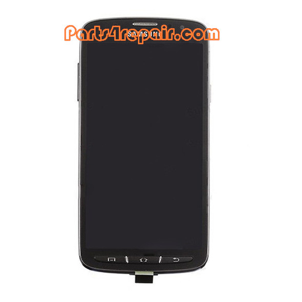 Complete Screen Assembly with Bezel for Samsung I9295 Galaxy S4 Active -Grey