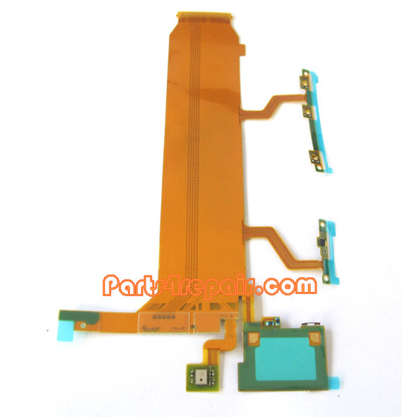 Flex Cable for Sony Xperia Z Ultra XL39H 3G