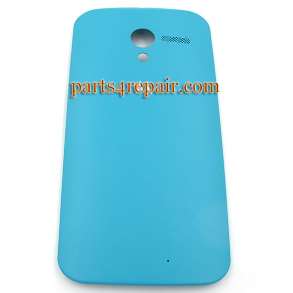 Generic Back Cover for Motorola Moto X XT1058 -Light Blue