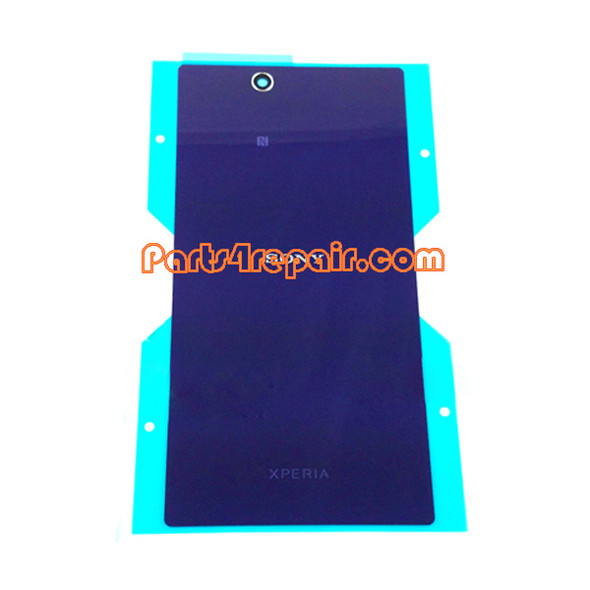 Back Cover for Sony Xperia Z Ultra XL39H -Purple from www.parts4repair.com