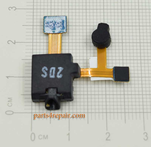 Earphone Jack Flex Cable for Samsung Galaxy Tab 8.9 P7300 from www.parts4repair.com