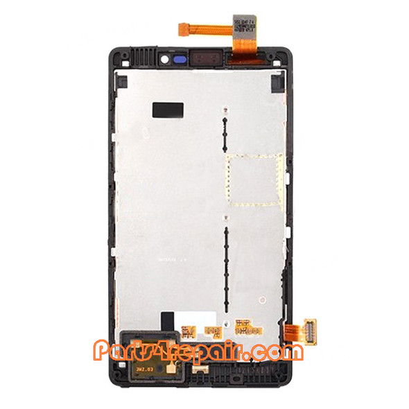 We can offer Complete Screen Assembly with Bezel for Nokia Lumia 820 (at&t Version)