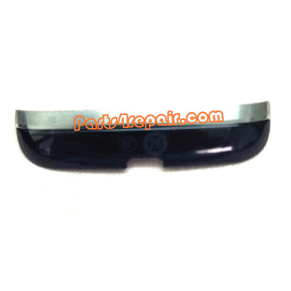 Bottom Cover for Samsung Galaxy S4 zoom C101 -Black from www.parts4repair.com