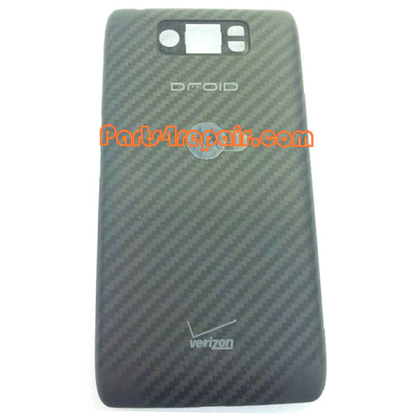 Back Cover for Motorola Droid Ultra XT1080 -Black (Thick Version) from www.parts4repair.com