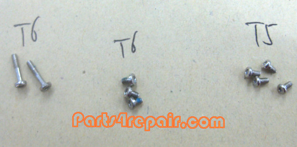 a full set of Screws OEM for Nokia 8800 Arte from www.parts4repair.com