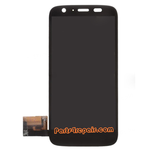 Complete Screen Assembly for Motorola Moto G XT1032 from www.parts4repair.com