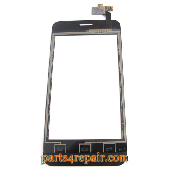Touch Screen Digitizer for Huawei Ascend Y320 -Black (Buckle Version)