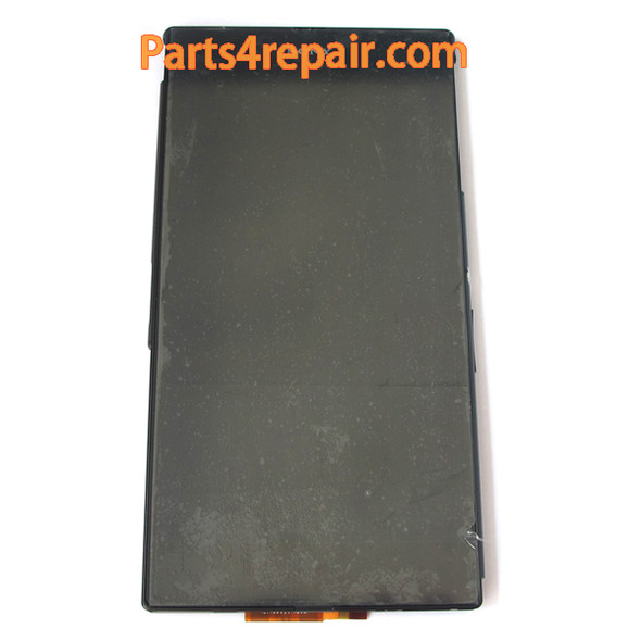 Complete Screen Assembly with Bezel for Sony Xperia Z Ultra XL39H (Used) -Black